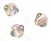 TOUPIES SWAROVSKI® ELEMENTS  4mm AB  CRYSTAL PARADISE SHINE X 50 perles
