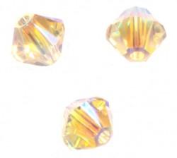 TOUPIES SWAROVSKI® ELEMENTS 4 mm SILK AB2X / 50 perles