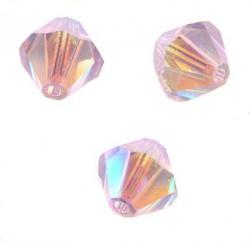 TOUPIES SWAROVSKI® ELEMENTS 4 mm VIOLET AB2X/ 50 perles