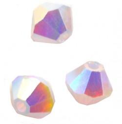 TOUPIES SWAROVSKI® ELEMENTS 4 mm VIOLET OPAL AB2X/ 50 perles