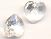 Coeur en crystal 14 mm Crystal X 6