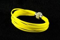 Bracelet avec fermoir aimant  20 cm X 1