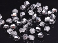 Toupies 6 mm Crystal comet argent light X 50