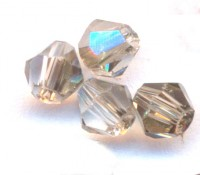 Toupies en crystal 3 mm Diamond X 100