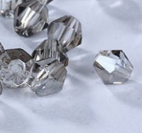 Toupies en crystal 3 mm Grey X 100