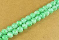 Perles 4 mm rondes en verre tchèque  Diametre du trou 1 mm X 200