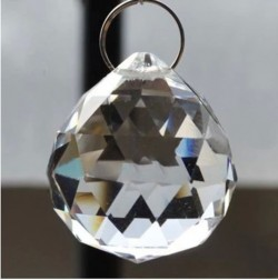 Pendant Lamp ball prism crystal AB