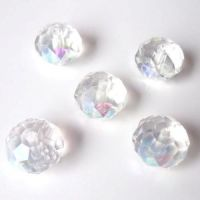 Rondelles briolettes 8 mm