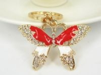 Papillon crystal 5 x 3 cm X 1