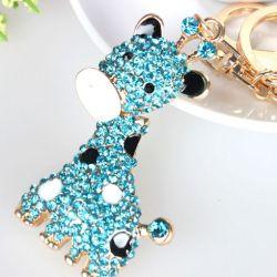 Girafle ( anneau + pince accroche sac , ceinture ) 5 x 3 cm