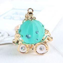 Carrosse  ( anneau + pince accroche sac , ceinture ) 5.2 x 4.4 cm