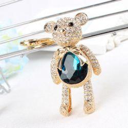 ours (anneau + pince accroche sac , ceinture) 7 x 4