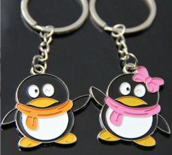 Porte cles charm Pingouin, les 2