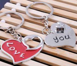 Porte cles charm Love you, les 2