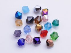 Toupies en crystal 4 mm Mixte X 200
