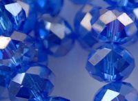 Perles crystal 2 x 3 mm Sapphire AB X 200