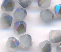 Toupies en crystal 4 mm Caribbean blue X 100