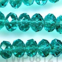 Perles cristal light emerald AB