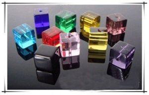 Cubes en crystal mixte 6 mm X 45
