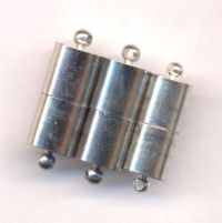 Fermoirs magnétiques puissant 8 x 3 mm Qte : 5