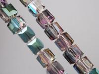 Cubes en crystal  6 mm X 10