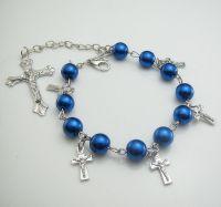 Bracelet Longueur: 27cm  Grandes croix Taille: 40X24mm Petite croix: 15x8mm