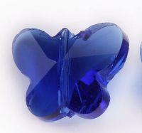 Papillon de boheme  14 mm Sapphire X 2