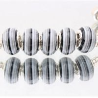 Perles Lampwork , perles de Murano 14mm x 10mm  Taille du trou:4.5mm X 10