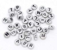 Mixe Alphabet/Lettre Acrylique  7mm  X 500