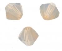 TOUPIES SWAROVSKI® ELEMENTS  4 mm  LIGHT GREY OPAL X 50