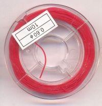 BOBINE FIL 10 METRES COULEUR N°2 diametre 0.60 mm