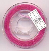 BOBINE FIL 10 METRES COULEUR N°6 diametre 0.60 mm