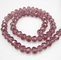 Perles cristal french rose 3 X 4mm x 100