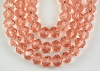 Perles cristal orange 3 X 4mm x 100