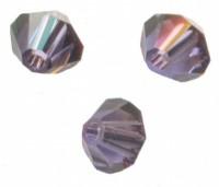 TOUPIES SWAROVSKI® ELEMENTS  4mm TANZANITE satin 50 perles