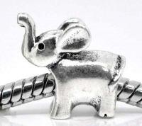 Perles elephant 14 x 13 X 10