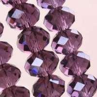 Perles 6 x 4mm<br /> X 25