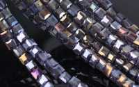 Cubes en crystal 3 mm X 50