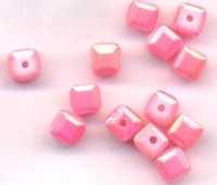 Cubes en crystal  6 mm X 25