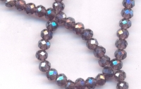Perles crystal  3 x 4 mm X 98