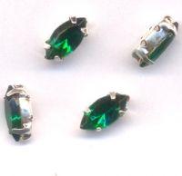 Navettes 10 x 4 Emerald X 4