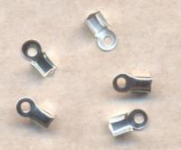 Embouts pince Serre-fil 3 x 2mm argent Qte : 10