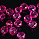 Perles crystal 3 x 4 mm