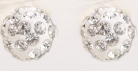 Perles rondes strass 10 mm