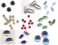 Navettes cabochons