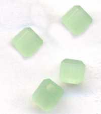 Cubes en crystal  4 mm X 9
