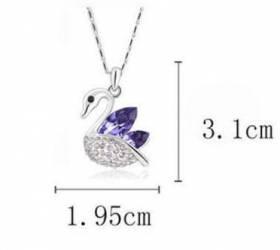 Pendentif 3.1 cm + chaine 47 cm