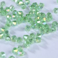 Toupies 3 mm peridot