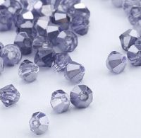 Toupies en crystal 4 mm X 100