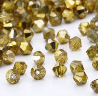 Toupies en cristal 4 mm